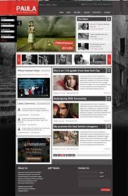 top 9 blog u0026 magazine templates for joomla on themeforest design