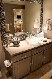 mirror tiles for bathroom alluring bathroom project sapphire diy tile mirror holy moly i may