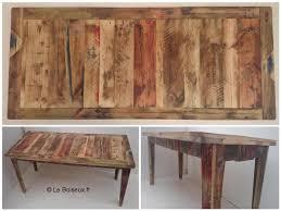 bureau bois recyclé bureau en bois recyclé plateaux de table en bois recyclé sur mesure