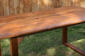 furniture cool unvarnished handmade salvaged wood dining tables