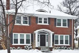 Brick Colonial House Renovated University District Brick Colonial Lists For 280k