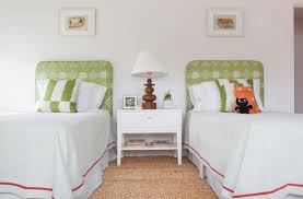 twin upholstered headboard and footboard set modern house design