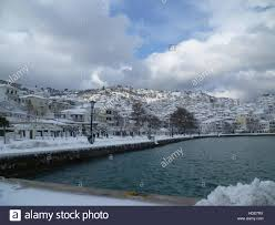 opel winter winter has taken hold of the habour town of skopelos on the island