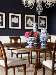 Navy Blue Dining Room Picture Blue And White Done Right Lillian August Drama
