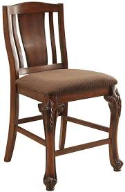 Cherry Dining Chair Jessener Traditional Counter Height Cherry Dining Chair Set Of 2