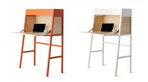 mini bureau secretaire ikea jonas simple beautiful bureau noir et blanc ikea