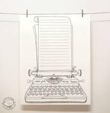 doodle party menu planner organizer printable digital letter