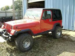 1980s jeep wrangler for sale 1990 jeep wrangler for sale carsforsale com