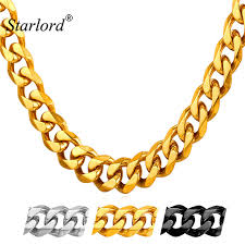chunky necklace chain images Starlord cuban chain for men hip hop jewelry big chunky necklace jpg