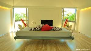 impressive hanging suspended bed with metal chrome bed frame also