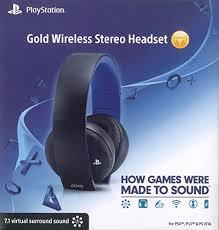 amazon black friday headsets amazon com playstation gold wireless stereo headset jet black