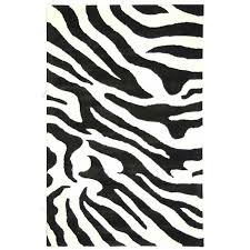 Black And White Rug Overstock Safavieh Handmade Soho Zebra Wave White Black N Z Wool Rug 6