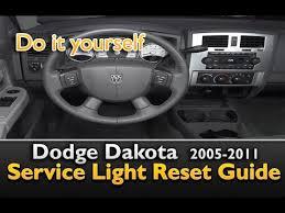 dodge dakota p0442 dodge dakota service light reset