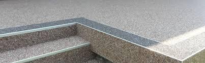 steinteppich verlegen treppe steinteppich verlegung bei böden terrasse balkon wohnbereich