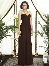 brown wedding dresses 48 best chocolate brown wedding ideas images on