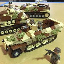 brickmania jeep instructions sdkfz 251 ausf d in late war camouflage lego brickarms