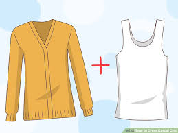 3 ways to dress casual chic wikihow