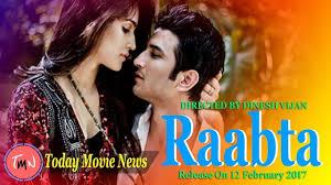 Seeking Official Trailer Raabta Official Trailer 2017 Sushant Singh Rajput Kriti