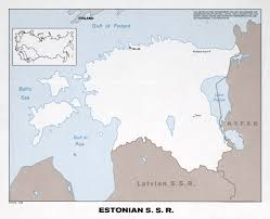World Map 1975 by Large Political Map Of Estonian Ssr 1975 Estonia Europe