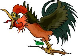 free cartoon rooster clipart 31