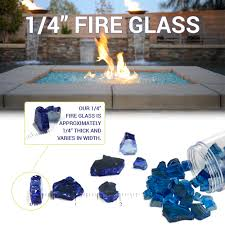 Glass For Firepit 1 4 Copper Reflective Glass Blazing Glass