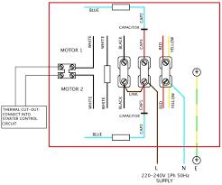 wiring diagram single phase forward reverse starter circuit