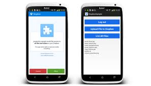 dropbox app for android file to dropbox in android exle stacktips