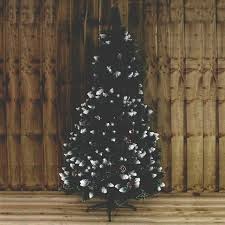 kingfisher 5ft snow tipped tree with pine cones and