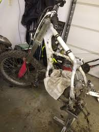 92 cr250 close to a lost cause old moto motocross