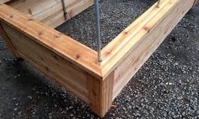 Raised Garden Beds Kits Great Cedar Planks For Raised Garden Beds And Raised Garden