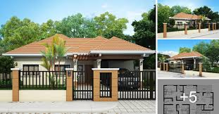 house design modern bungalow bungalow house plans modern plan one story floor craftsman cottage