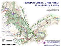 Austin Marathon Map by Barton Creek Greenbelt Trail Main