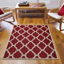 trellis rug in red free uk delivery the rug seller