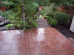 cover your patio quickly with interlocking ceramic patio tiles