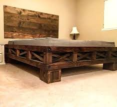 bed frame cal king bed frame with storage drawers california