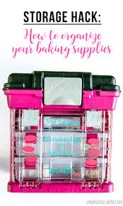 organizing hack how to organize your baking supplies organizing