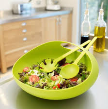 15 cool salad bowls and creative salad server designs