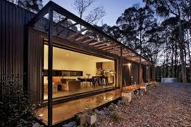 modern prefab cabin musk bunker modern prefab cabin by modscape