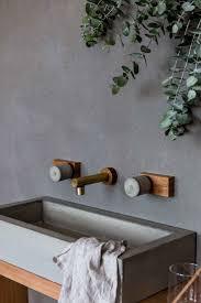 Concrete Bathroom Vanity by Best 25 Concrete Sink Ideas On Pinterest Concrete Design