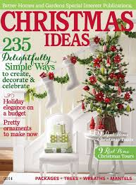 home and garden christmas decoration ideas interesting festive flourishes in better homes and gardens