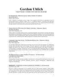 Resume For Volunteer Work Sample by Community Service On Resume Sample Cousin Kate Essay