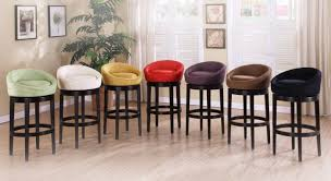Upholstered Bar Stools With Backs Counter Height Chairs With Back Black Rattan Bar Stool Arm And