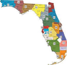 Map Of North Florida Counties Community Based Care Lead Agency Map Florida Department Of
