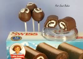 little debbie swiss rolls cake pops pint sized baker