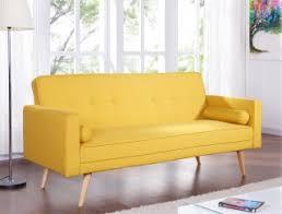 living room furniture sofa beds mustard fabric sofa bed