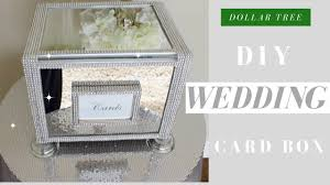 wedding photo box diy wedding card box dollar tree bling wedding card box