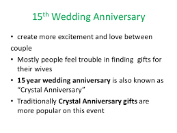 15th wedding anniversary ideas 15th wedding anniversary ideas