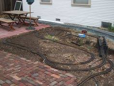 g scale garden train layouts winona garden railway open house 11