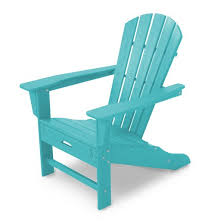 polywood palm coast adirondack chair with pull out ottoman