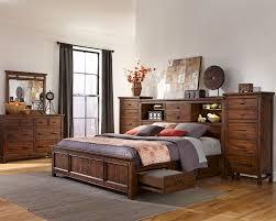 intercon storage bedroom set wolf creek inwk br 6190set
